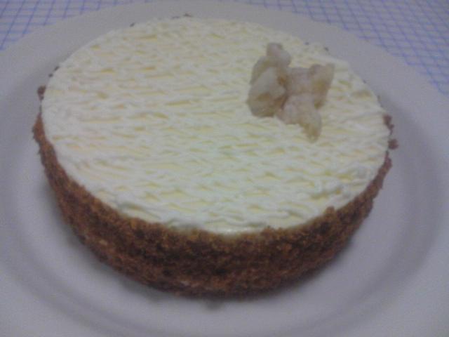 6月お菓子教室step2 『生姜のレアチーズ』
