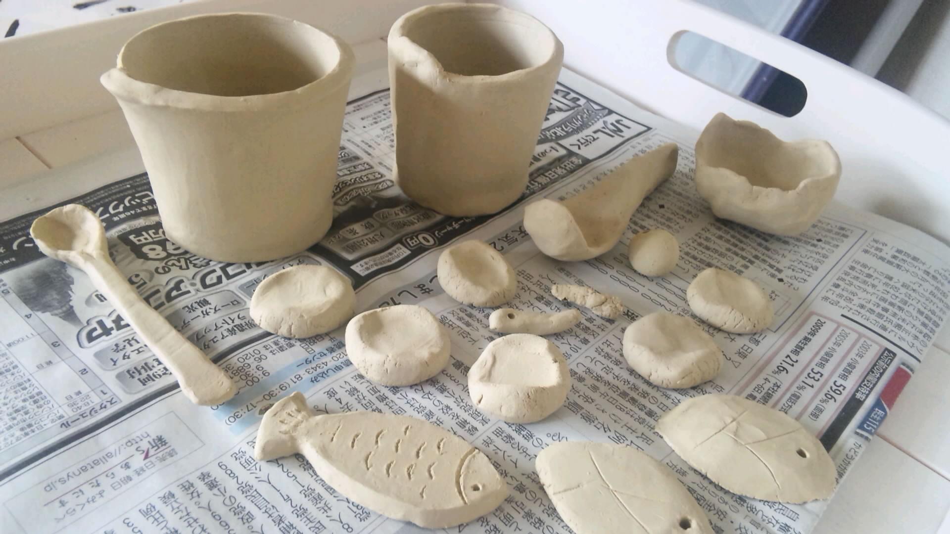 オーブン粘土教室