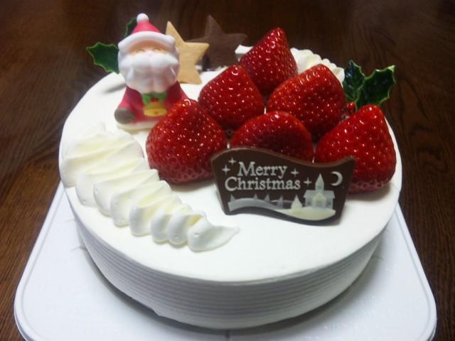 最後のクリスマスケーキ