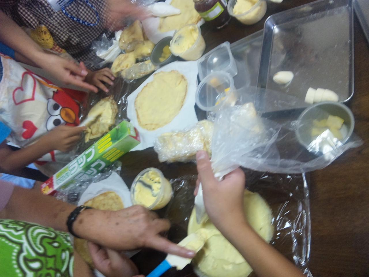 パンとお菓子のコラボ