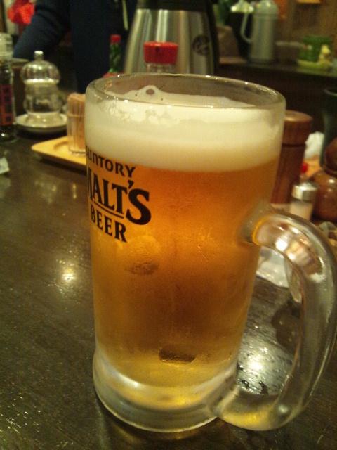 ビールうまっ荑