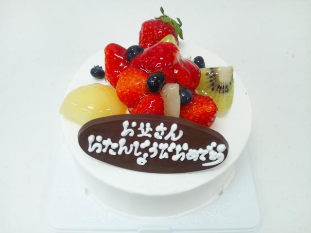 今日のBirthdayケーキ