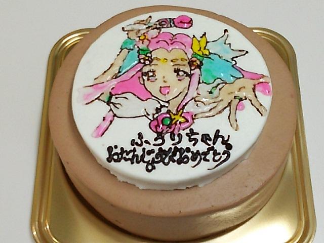 今日のイラストケーキ