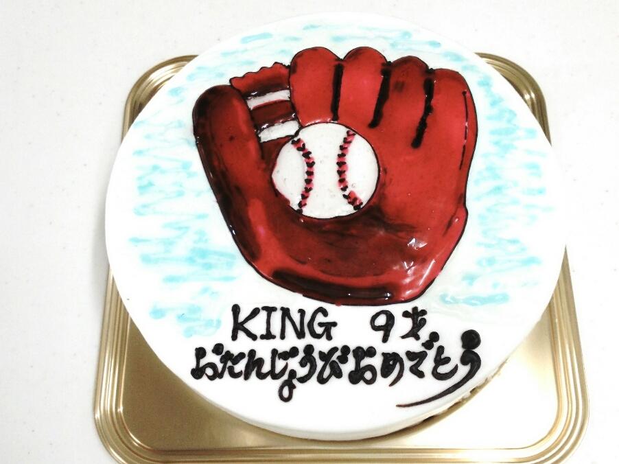 今週のイラストケーキ