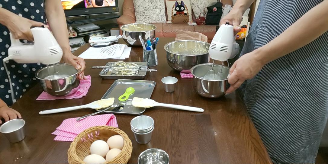 今日のお菓子教室